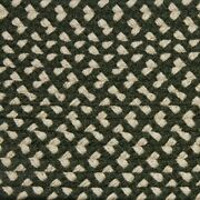 Green And Cream Check Braided Area Rug And Runner Many Sizes Available