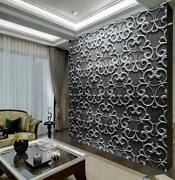 Copy Carved Hollow Metal Tex Full Wall Mural Photo Wallpaper Print Home 3d Decal