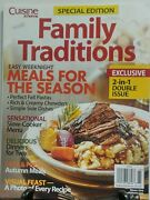 Cuisine At Home Special Edition Family Traditions Holiday Menus Free Shipping Sb