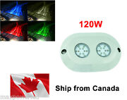 120w Marine Boat Rgb Multicolor Led Underwater Surface Mount Lights