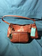 Nine West Purse W/ Matching Wallet And Key Chain