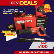 Hilti Wsr 1000 Reciprocating Saw Brand New Free Survival Knife Fast Shipping