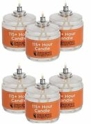 115 Hour Plus Emergency Candles Long Burning Survival Candles - Set Of 6