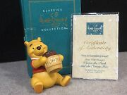 Wdcc Disney Classic Collection Winnie The Pooh Time For Something Sweet 1996