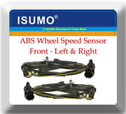 2 X Abs Wheel Speed Sensor Front - Left And Right Fits Infiniti Fx50 G25 G35 G37