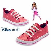 Disney Store New Doc Mcstuffins Sparkling Pink Sneakers Shoes For Girls Sz 2/3