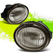 Smoked Tint Oe Fog Lights/lamps Pair For 02-03 Nissan Maxima A33 Vq35de