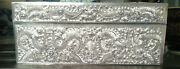Chinese Export Silver- Jewellery Box With 12 Embossed Dragons C1863 China