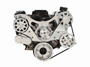 Billet Serpentine Kit - Small Block Ford - Polished - W/ac And No Ps