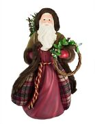 Hallmark Father Christmas Table Top Decoration Nib Sold Out