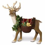 Hallmark Father Christmas Reindeer Table Top Decoration Nib Sold Out