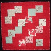 Moda Falling Charm Squares Winter Lane Charm Squares Baby Quilt Wall Hanging 30