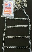 New Bar Reinforced Usa Snow Tire Chains W/adjusters P225/70r15 P235/70r15   0