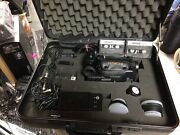 Hitachi Vm-e520a 8mm Camcorder W/ Remote Charger Flash 2 Battery Bag And More