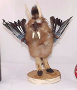 French Made Jackalope Deer Antlers Professionally Done Oddities Weird Curiosity
