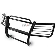 Black Front Bumper Push Bar Brush Grille Grill Guard For 98-05 Mercedes M-class