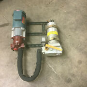 Lsc Pump Reliance Motor And Norco Filter Units Assembly Machine Shop Hydraulic