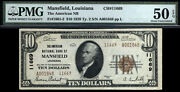 10 1929 Type2 The American National Bank Of Mansfield Louisiana No Large Known