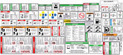 Genie Gs-2668rt Scissor Decal Kit Safety Only Sn- 44989 To 52759