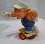 Disney Classics The Three Little Pigs Practical Pig Work And Play Donand039t Mix W/coa