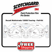 Fits Ducati Multisrada 1200s Touring - 3m 948 Pro Series Film Paint Protection