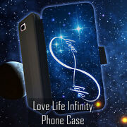 Love Life Infinity Space Leather Wallet Iphone 7 6 6s 5 5s 4 4s 6 Plus Case