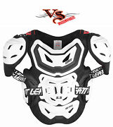 Leatt Chest Protector 5.5 Prohd Black Or White Adult
