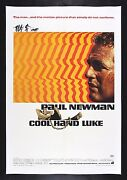 Cool Hand Luke Cinemasterpieces Linen Backed 1sh Movie Poster 1967 Paul Newman