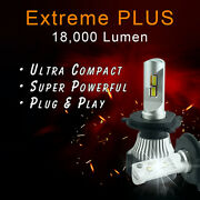 H9 Led Conversion Kit Upgrade Bulbs For Projector Lens Headlights - Extreme Plus