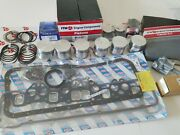 Engine Kit - Fits Datsun 240z, 260z Pistons And Rings Gaskets Bearings Timing,gskt