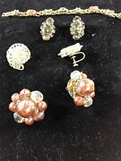 Earrins Set Of Three With A 6 Inch Bracelet G 58+