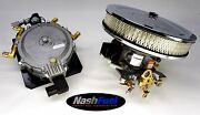 Front End V8 Kit Propane Holley With 4 Barrel Throttle Plate 350 383 454 5.7 7.4