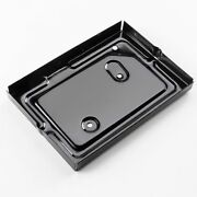 41 42 46 47 48 Plymouth Brand New Battery Tray Mopar Powder Coated Black Deluxe