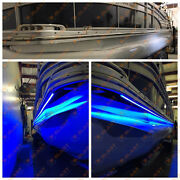 22-26and039 Pontoon Boat Under Deck Led Lights | Includes Harness And Mounting Track