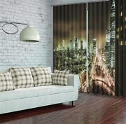 Best City In Germany 3d Blockout Photo Printing Curtains Draps Fabric Window