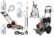 Industrial Pressure Washer 4000psi 13hp Honda Gas Power Contractor Package