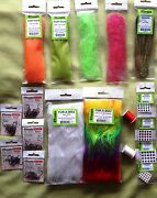 Perch Fly Tying Kit Fly Tying Materials Hooks Flash Eyes Threads For Perch Flies