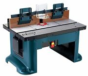Bench Top Router Table Wood Working Routing Work Shop Project 6ft Cord Tool Kit