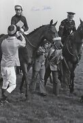 Brian Fletcher Hand Signed 12x8 Photo Red Rum Grand National 2.