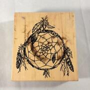Psx Rubber Stamp American Indian Dream Catcher K2001 T1