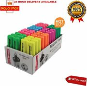 Stabilo Highlighter Big Boss Pack Of 48 Assorted Colours New