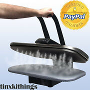 Digital Table Top Steam Iron Press Control Fabric Garment Clothing Dry Ironing