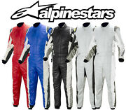 Alpinestars Gp Tech 3 Layer Fia Approved Race Suit Adult And Youth / Kids Sizes
