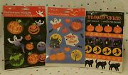Vintage Halloween Stickers 12 Sheets Total Carlton Cards And American Greetings