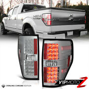 [diamond Chrome] 2009-2014 Ford F150 Lobo Led Tail Lights Lamp Built In Resistor