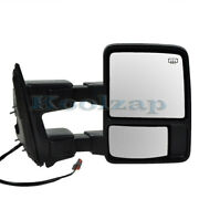 F-series Truck Sd Tow Mirror Power Heated Manual Telescopic W/signal Right Side