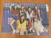 Apink - Pink Memory Red Version [official] Poster K-pop New