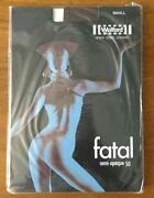Wolford Fatal Semi-opaque 50 Seamless Tights Small Coca Pantyhose
