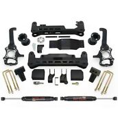 Readylift 2015-2017 For Ford F150 7.0inch Lift Kit System - Shocks Black- 4wd