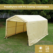 10and039x15and039x8and039ft Storage Shed Tent Shelter Auto Canopy Cover Carport Garage Portable